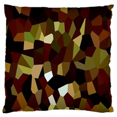 Crystallize Background Standard Flano Cushion Case (one Side) by Simbadda