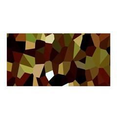 Crystallize Background Satin Wrap by Simbadda