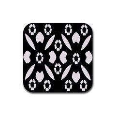 Abstract Background Pattern Rubber Coaster (square)  by Simbadda
