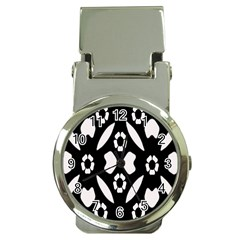 Abstract Background Pattern Money Clip Watches by Simbadda