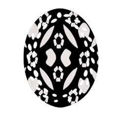 Abstract Background Pattern Ornament (oval Filigree) by Simbadda