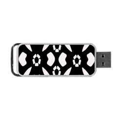 Abstract Background Pattern Portable Usb Flash (one Side) by Simbadda