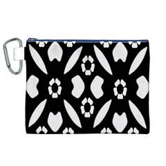 Abstract Background Pattern Canvas Cosmetic Bag (xl) by Simbadda