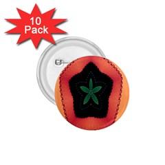 Fractal Flower 1.75  Buttons (10 pack)