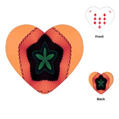 Fractal Flower Playing Cards (Heart)