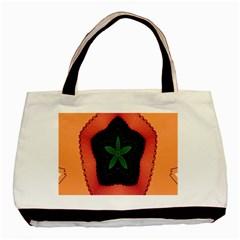 Fractal Flower Basic Tote Bag
