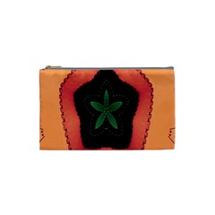 Fractal Flower Cosmetic Bag (Small)