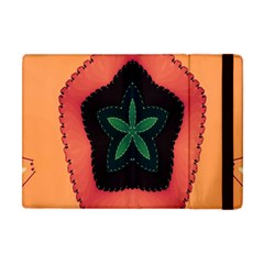 Fractal Flower Apple Ipad Mini Flip Case by Simbadda