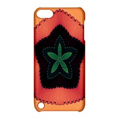 Fractal Flower Apple Ipod Touch 5 Hardshell Case With Stand by Simbadda