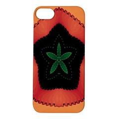 Fractal Flower Apple iPhone 5S/ SE Hardshell Case