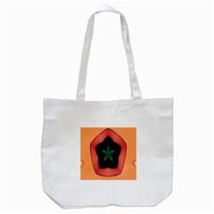 Fractal Flower Tote Bag (White)