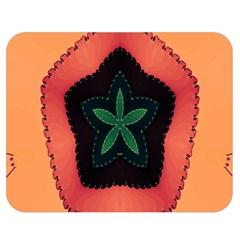 Fractal Flower Double Sided Flano Blanket (Medium)
