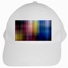 Colorful Abstract Background White Cap by Simbadda