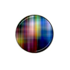 Colorful Abstract Background Hat Clip Ball Marker (10 Pack) by Simbadda