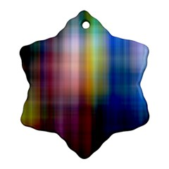 Colorful Abstract Background Ornament (snowflake) by Simbadda