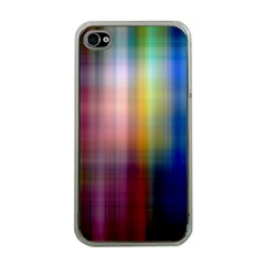 Colorful Abstract Background Apple Iphone 4 Case (clear) by Simbadda
