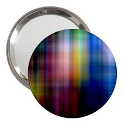 Colorful Abstract Background 3  Handbag Mirrors by Simbadda