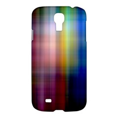 Colorful Abstract Background Samsung Galaxy S4 I9500/i9505 Hardshell Case by Simbadda