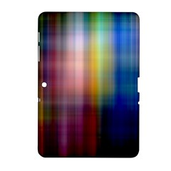 Colorful Abstract Background Samsung Galaxy Tab 2 (10 1 ) P5100 Hardshell Case  by Simbadda