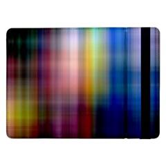 Colorful Abstract Background Samsung Galaxy Tab Pro 12 2  Flip Case by Simbadda