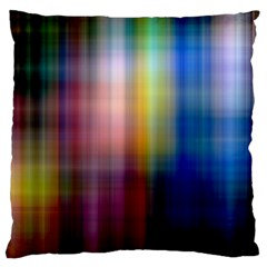 Colorful Abstract Background Standard Flano Cushion Case (one Side) by Simbadda