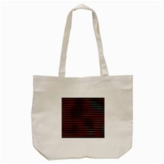 Colorful Venetian Blinds Effect Tote Bag (cream) by Simbadda
