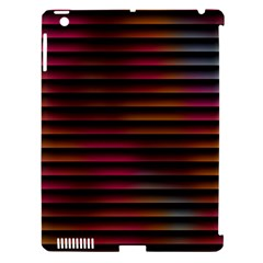 Colorful Venetian Blinds Effect Apple Ipad 3/4 Hardshell Case (compatible With Smart Cover) by Simbadda