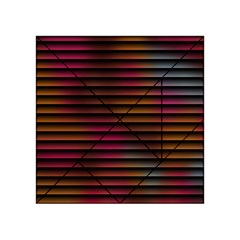 Colorful Venetian Blinds Effect Acrylic Tangram Puzzle (4  X 4 ) by Simbadda