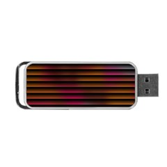 Colorful Venetian Blinds Effect Portable Usb Flash (one Side) by Simbadda