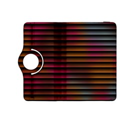 Colorful Venetian Blinds Effect Kindle Fire Hdx 8 9  Flip 360 Case by Simbadda