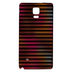 Colorful Venetian Blinds Effect Galaxy Note 4 Back Case by Simbadda