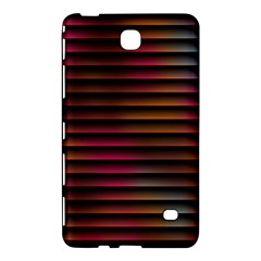 Colorful Venetian Blinds Effect Samsung Galaxy Tab 4 (8 ) Hardshell Case  by Simbadda