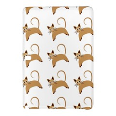Cute Cats Seamless Wallpaper Background Pattern Samsung Galaxy Tab Pro 10 1 Hardshell Case by Simbadda