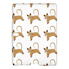 Cute Cats Seamless Wallpaper Background Pattern Samsung Galaxy Tab S (10 5 ) Hardshell Case  by Simbadda