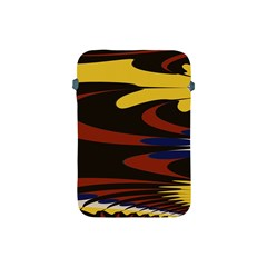 Peacock Abstract Fractal Apple Ipad Mini Protective Soft Cases by Simbadda