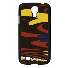 Peacock Abstract Fractal Samsung Galaxy S4 I9500/ I9505 Case (black) by Simbadda