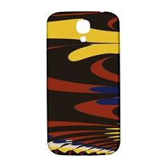 Peacock Abstract Fractal Samsung Galaxy S4 I9500/i9505  Hardshell Back Case by Simbadda