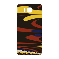 Peacock Abstract Fractal Samsung Galaxy Alpha Hardshell Back Case by Simbadda