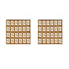 Art Abstract Background Pattern Cufflinks (square) by Simbadda