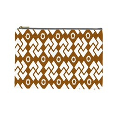 Art Abstract Background Pattern Cosmetic Bag (large)  by Simbadda