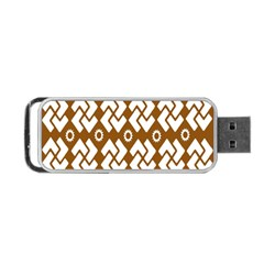 Art Abstract Background Pattern Portable Usb Flash (two Sides) by Simbadda