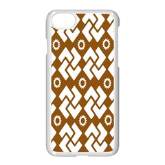 Art Abstract Background Pattern Apple Iphone 7 Seamless Case (white) by Simbadda