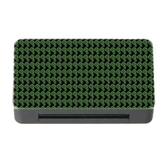 Clovers On Black Memory Card Reader With Cf by PhotoNOLA