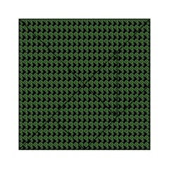 Clovers On Black Acrylic Tangram Puzzle (6  X 6 ) by PhotoNOLA