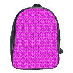 Clovers On Pink School Bags (xl)  by PhotoNOLA