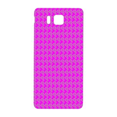 Clovers On Pink Samsung Galaxy Alpha Hardshell Back Case by PhotoNOLA