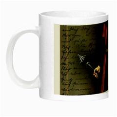 Count Vlad Dracula Night Luminous Mugs by Valentinaart