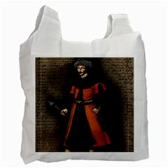Count Vlad Dracula Recycle Bag (two Side)  by Valentinaart