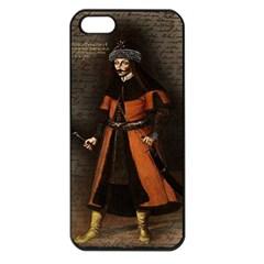 Count Vlad Dracula Apple Iphone 5 Seamless Case (black) by Valentinaart