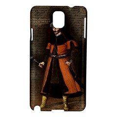 Count Vlad Dracula Samsung Galaxy Note 3 N9005 Hardshell Case by Valentinaart